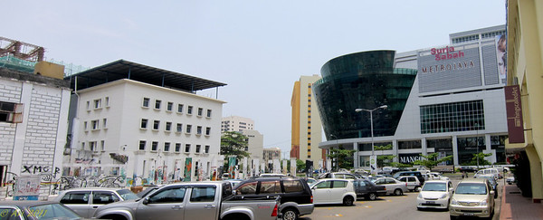 The Guya Street area where my hotel was.
