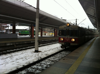 I rather enjoyed riding on the Polish trains -- but they were SLOW for someone used to Japan's shinkansen or France's high-speed rail service.