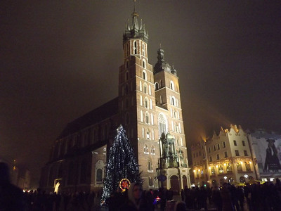 Krakow, Poland - New Years, 2014
