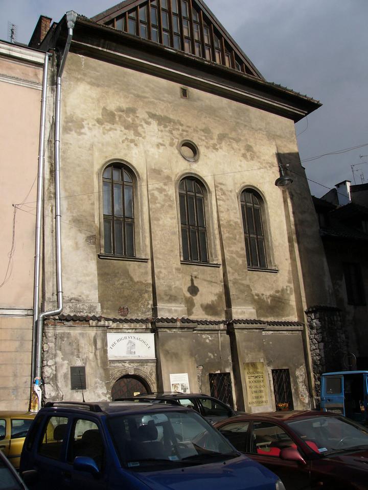 Synagogue, now a shop