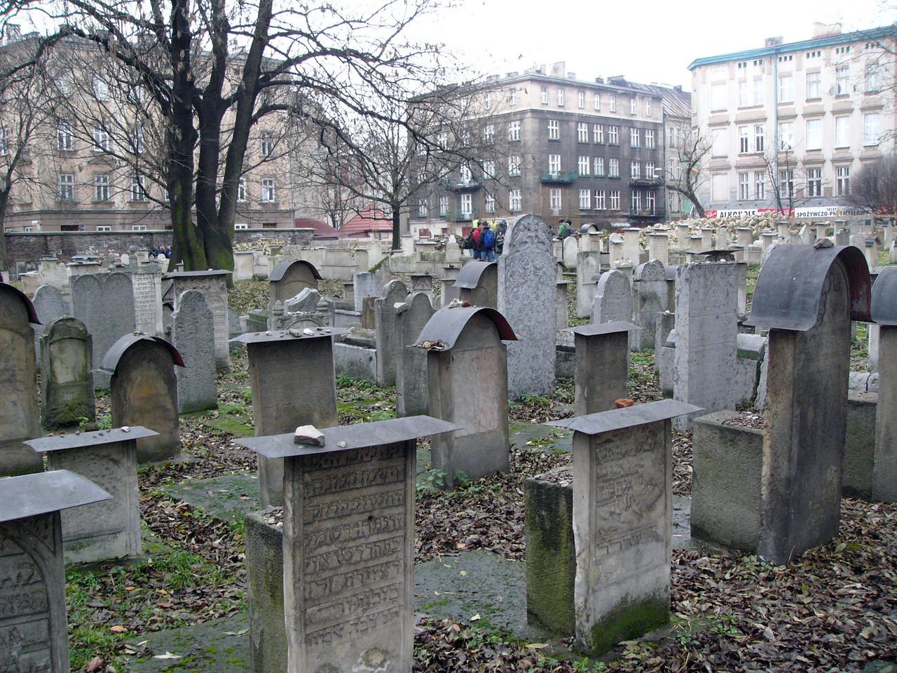Krakow Jewish graveyard