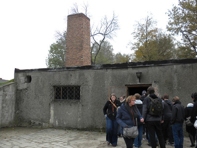 Auswitz concentration camp - crematorium