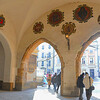 Krakow, Poland - Main Market Square (Rynek Glówny) - Cloth Hall (Sukiennice)