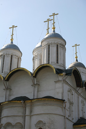 The Patriarch's Palace and the Twelve Apostles' Church, Kremlin, Moscow  Built in 1653-1655 for Patriarch Nikon.