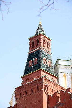The Annunciation Tower, Kremlin, Moscow