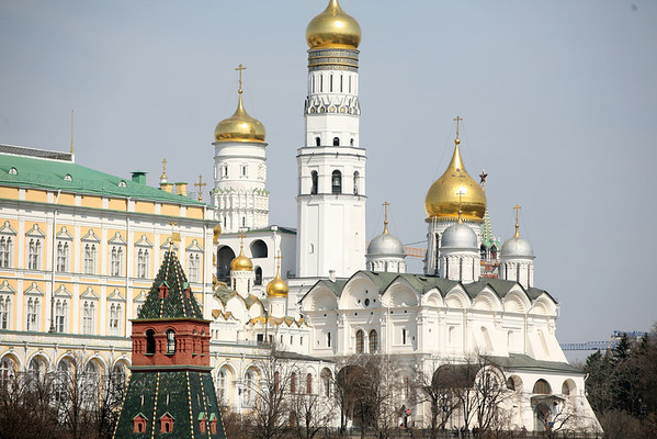 A View of the Kremlin from the Bolshoy Kamenny Bridge