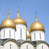 The Assumption Cathedral, Kremlin<br /> <br /> Erected in 1475-1479 and it was the major church of the state in which all Russian Czars were crowned.
