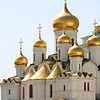 The Annunciation Cathedral, Kremlin, Moscow<br /> <br /> Built in 1484-1489 by Pskov craftsmen, it was the home church of Moscow Great Princes and later -Russian Czars.