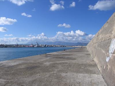 Iraklio haven met Venetiaans fort