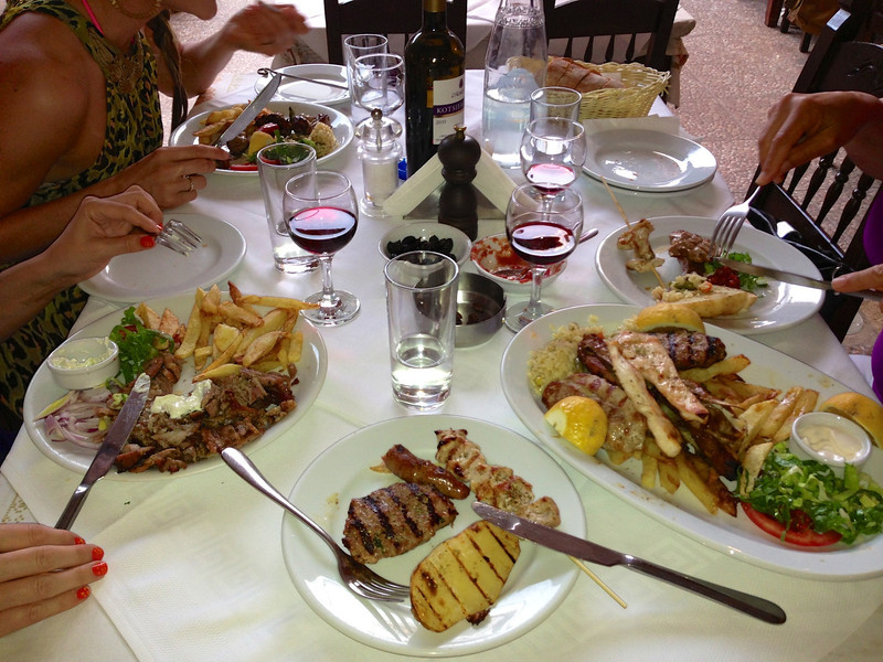 Sommarmat...Kreta 2013