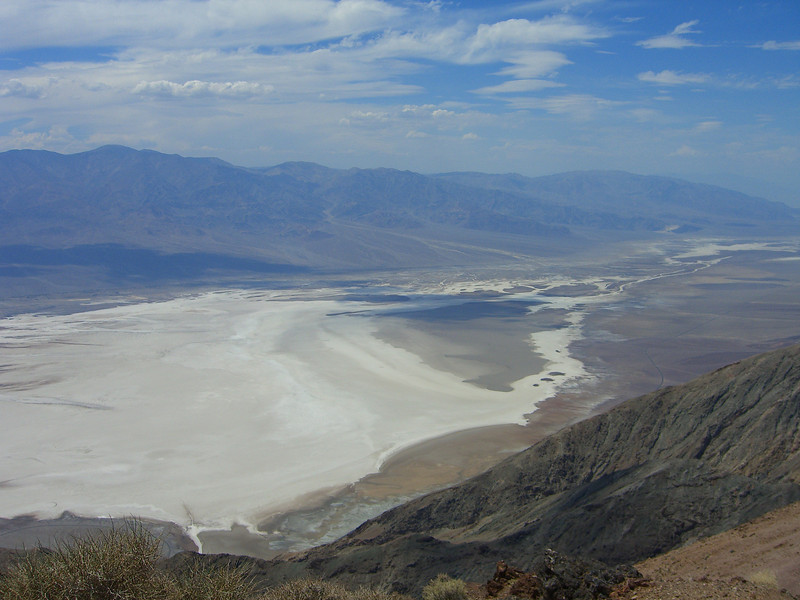 Different view of Badwater - considering it was so sunny I couldn't even see, these pictures didn't turn out too bad.
