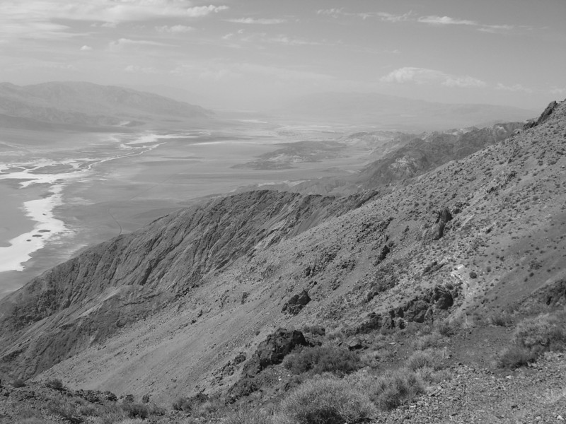 and yet more B&W of Badwater