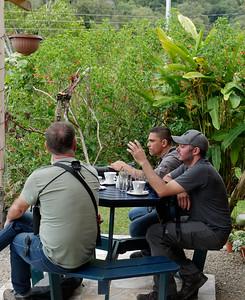Birding over café