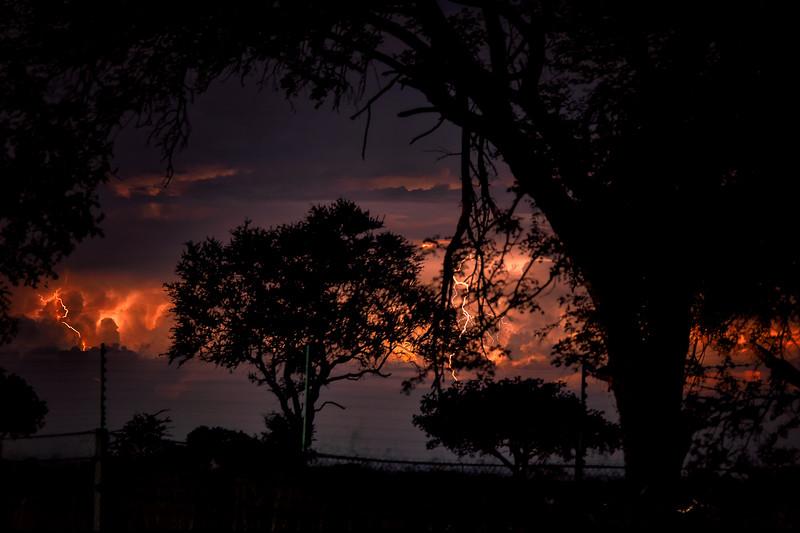 Storm at Satara