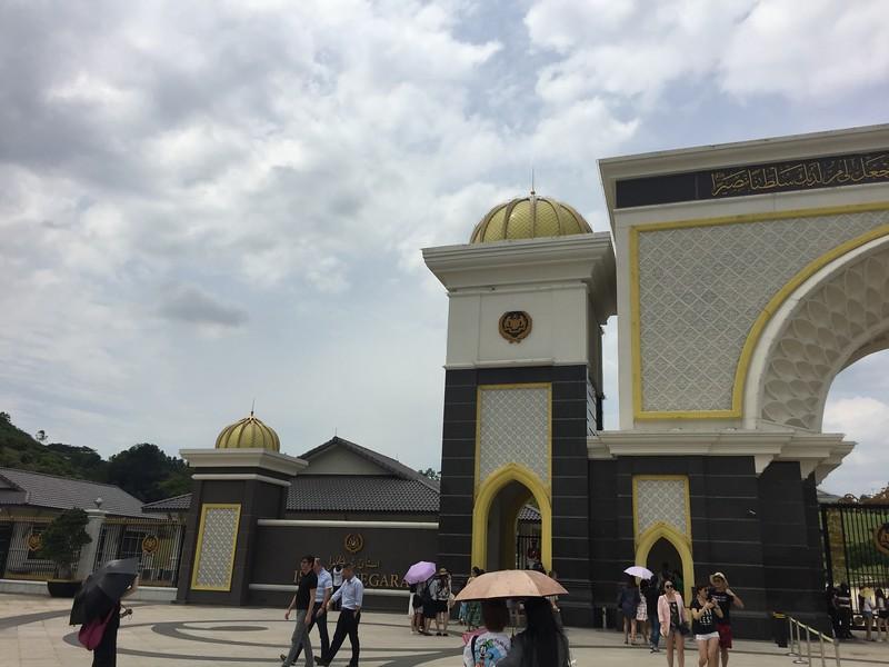 Istana Negara, the Malaysian king's palace