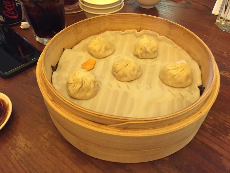 Dumplings, lunch at Din Tai Fung