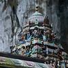 Temple at Batu Caves 2009