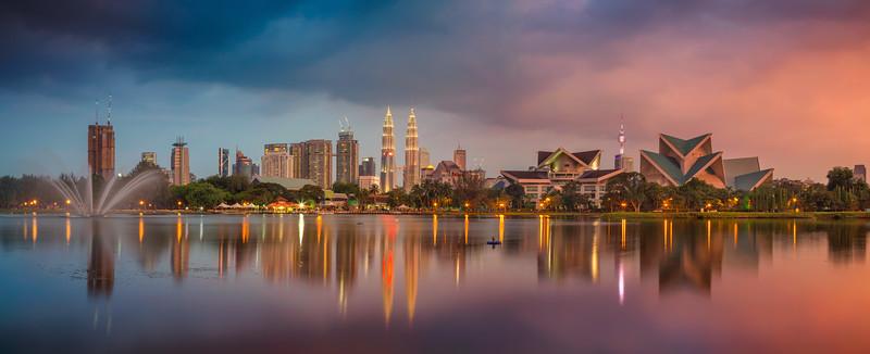 Kuala Lumpur Panorama.