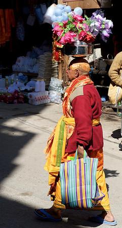 Har Ki Pauri gath day after the first royal bath, or Pratham Shahi Snan. Kumbh Mela 2010, Haridwar.