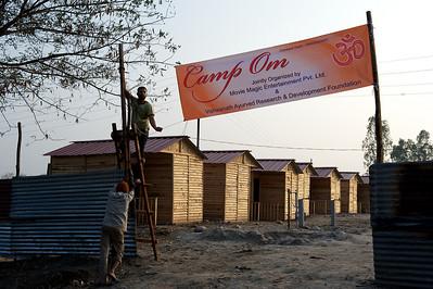 Camp Om, Kumbh Mela 2010, Haridwar.