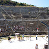 The Ephesus Theater in Kusadasi, Turkey.