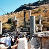 Ephesus ruins in Kusadasi, Turkey.