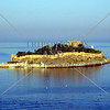 Pigeon Island near the port of Kusadasi, Turkey.