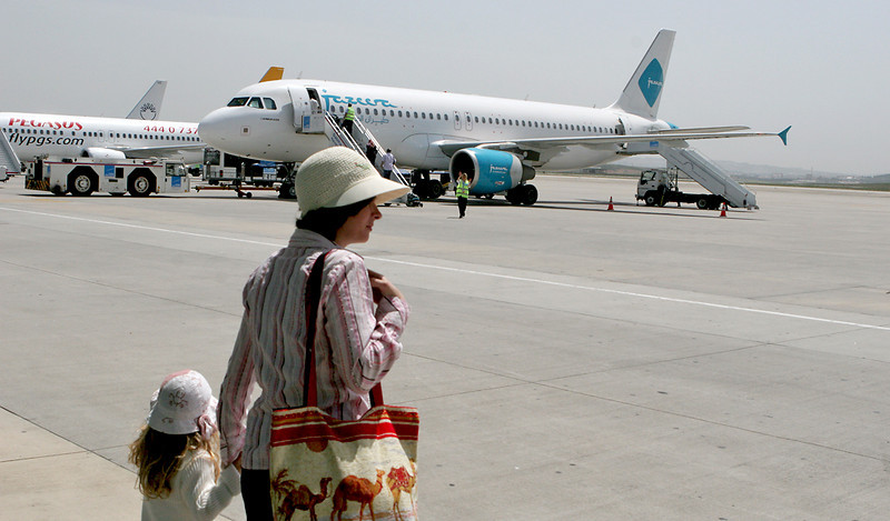 We flew with the Arab low-cost - Al Jazeera