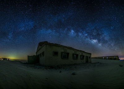 Milkyway at salmi- pano.
