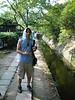 Sweatin on the Tetsugaku-no-Michi, the Path of Philosophy
