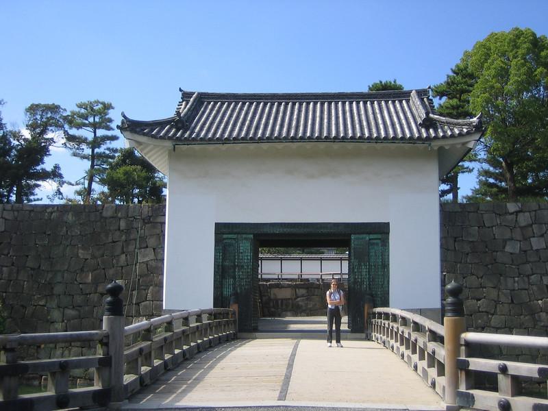 Castle Wall Gate
