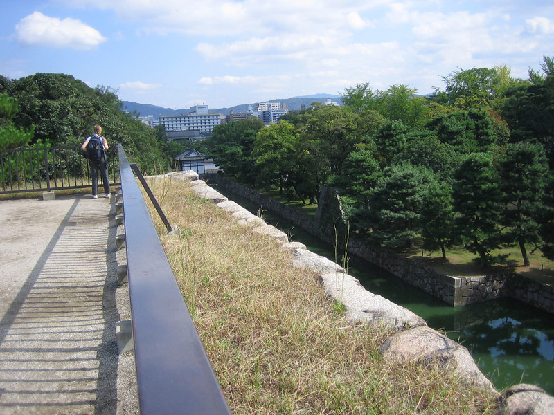 Kyoto from the Castle Inner Wall