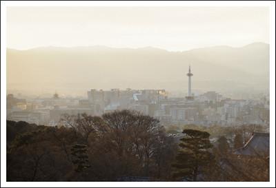 Kyoto city from Kiyomizudera