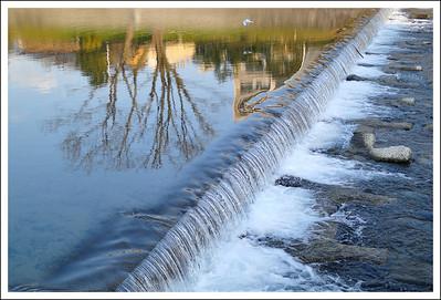 Reflections on Kamo river
