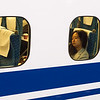 On the Shinkansen, Kyoto