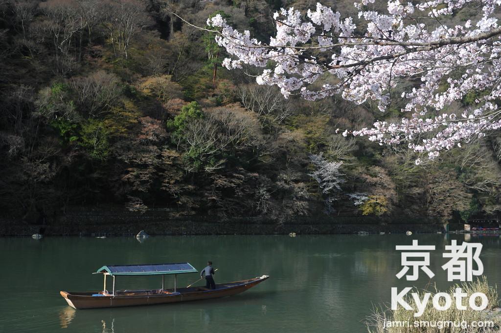 Hanami in Arashiyama