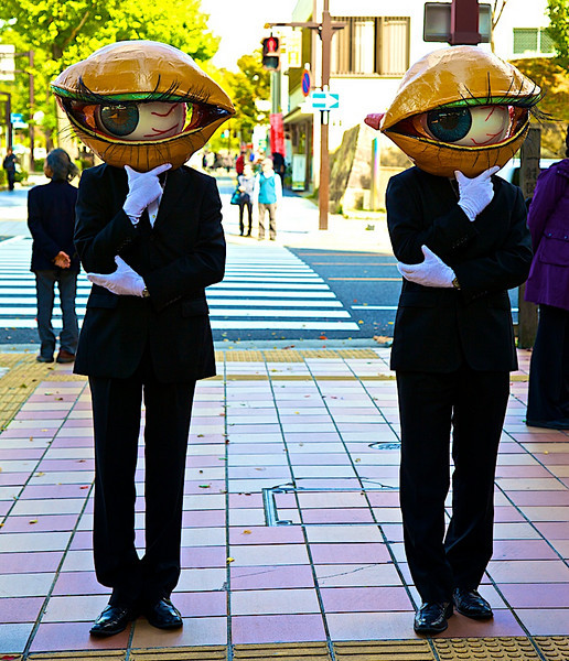 Street actors Himeji