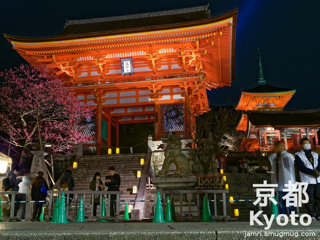 Outside Kiyomizu-dera