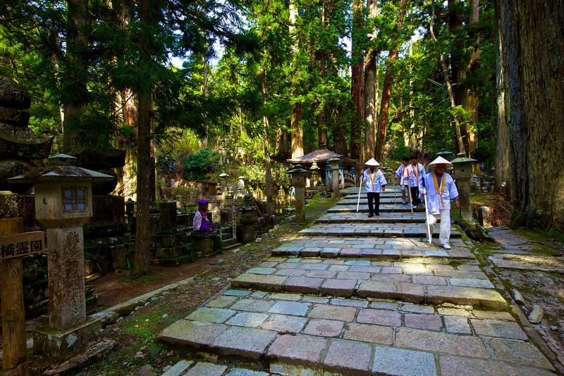 Pilgrims, Koyasan