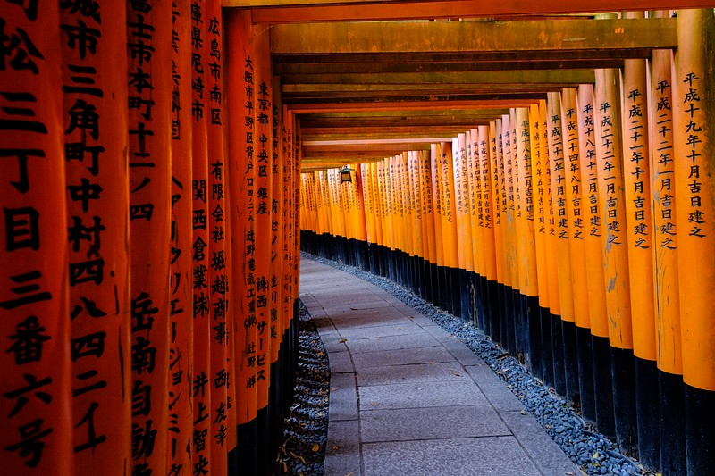 Tori, Kyoto