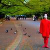 Performer  at Ueno Park, Tokyo