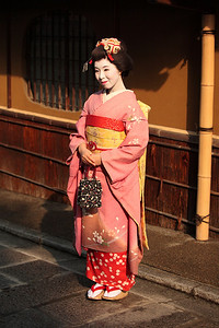 Maiko style in Kyoto