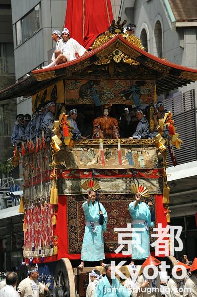 The Gion Matsuri Main Parade