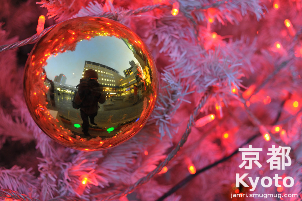 Merry Christmas from James in Kyoto