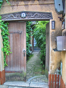22 - Kyoto apartment entrance