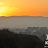Winter Sunset from Kiyomizu-dera