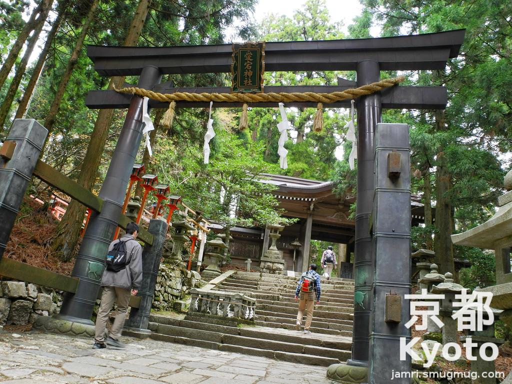 The Black Torii of Atago-jinja