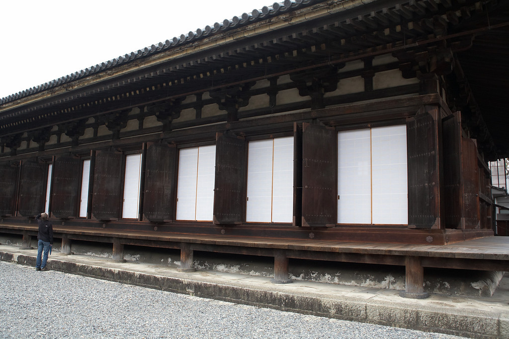 Here you can see the rice paper behind the doors.