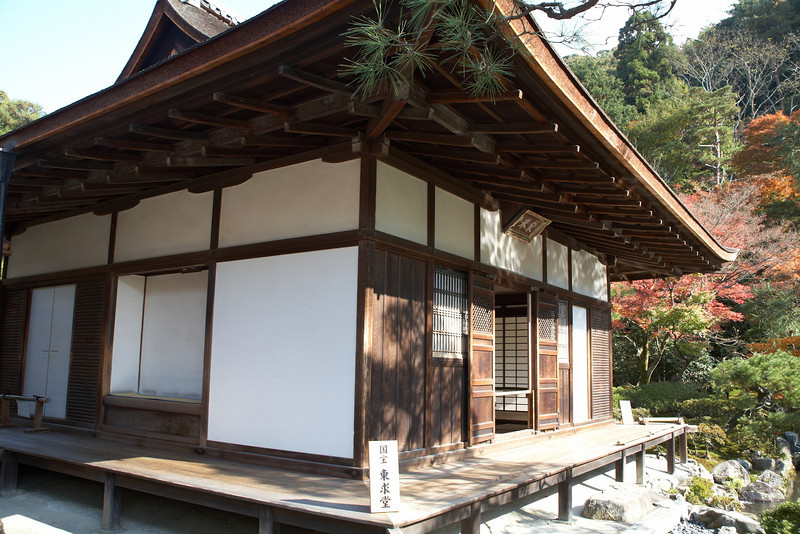The Tougudo. Yoshimasa probably lived in this building.