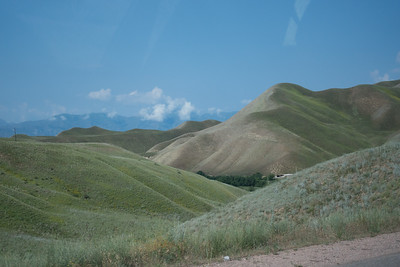 Lake Toktogul to Bishkek: